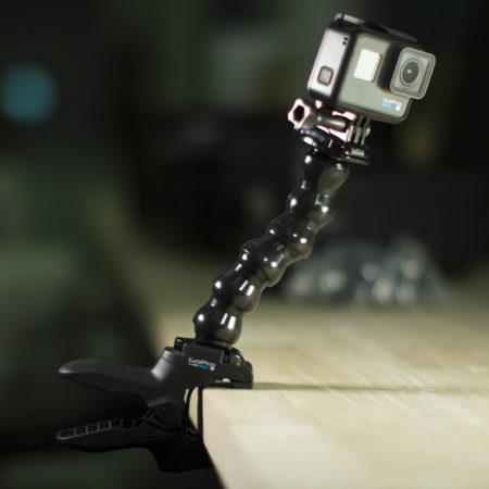 GoPro Hero 6 en situation avec accessoires