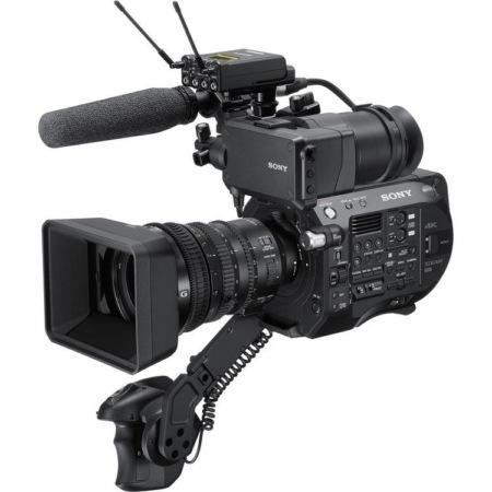 configuration de la sony FS7 mkii Sony